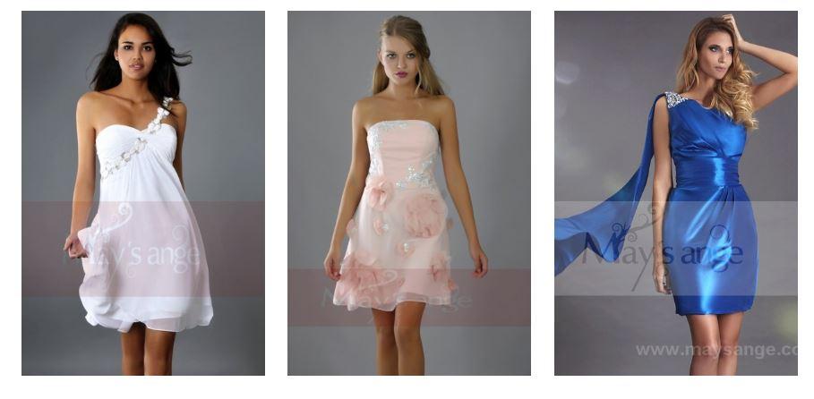 Large choix de robes courtes